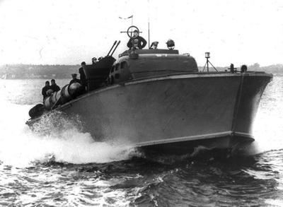 Tufi WWII PT Boat Wrecks - Patrol Torpedo boat 67 (PT67) in WWII