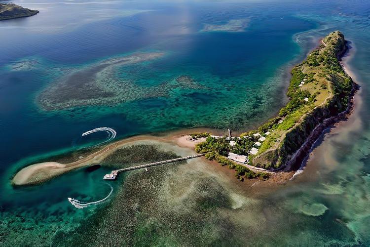 Loloata Island near Port Moresby - Image Courtesy of Loloata Dive Resort