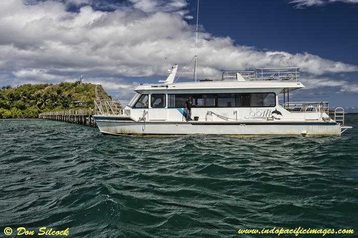Loloata's new catamaran