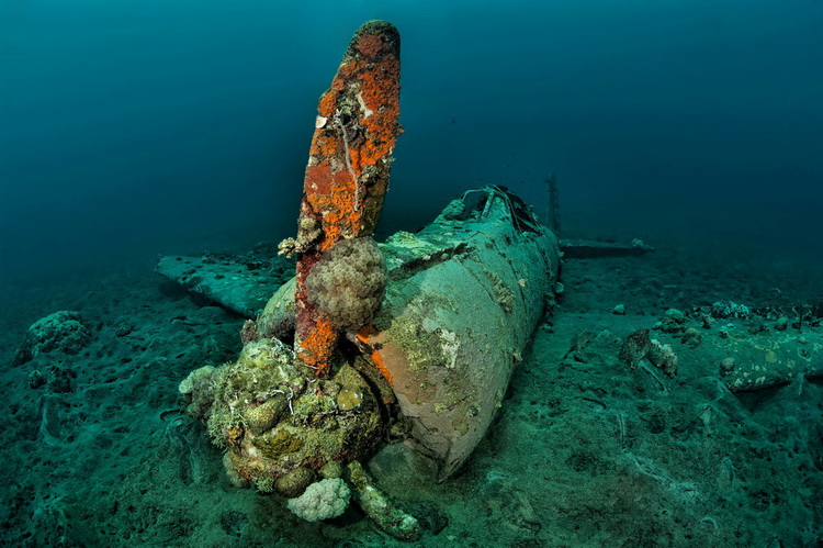 Photo of the Kimbe Bay Zero Wreck