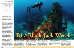 Diving PNG's B17 Black Jack Wreck
