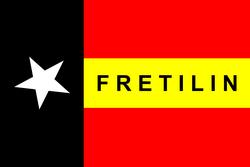 Timor Leste Overview and History - Flag_FRETILIN_250