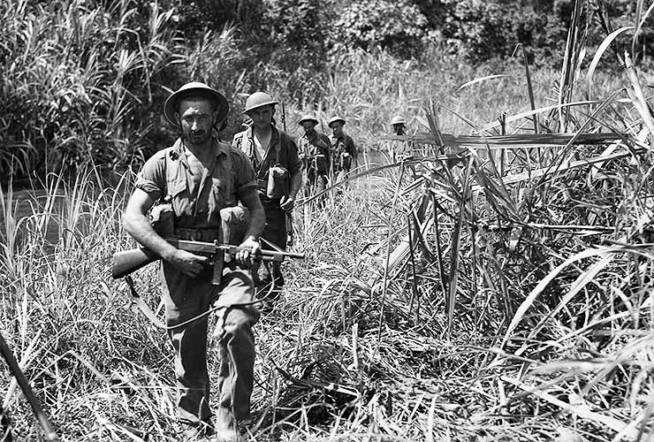 kokoda track In july 1942, japanese forces landed on the northern coast of papua their objective was to make their way overland along the kokoda track and capture port moresby on.