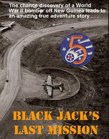 History of the B-17F Black Jack Wreck - black_jack_front_350
