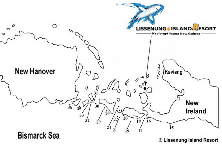 Kavieng dive sites - Kavieng's Bismarck Sea Dive Sites