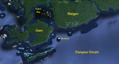 Map of Mioskon Island