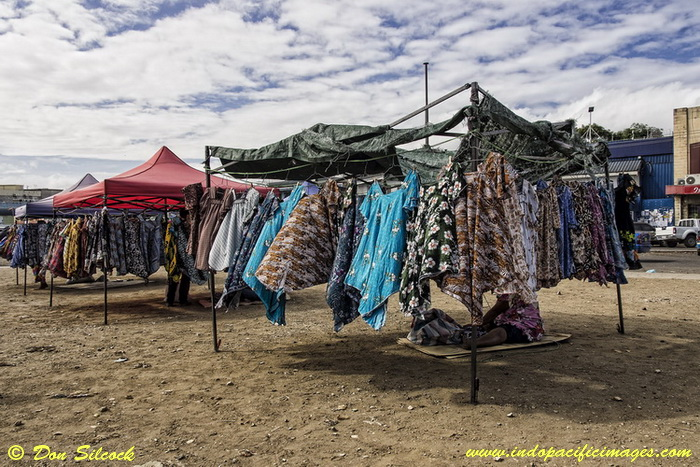 Things to do in Port Moresby - Meri Blouses for sale at Four Mile Market