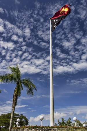 Things to do in Port Moresby - National Flag at Parliament House