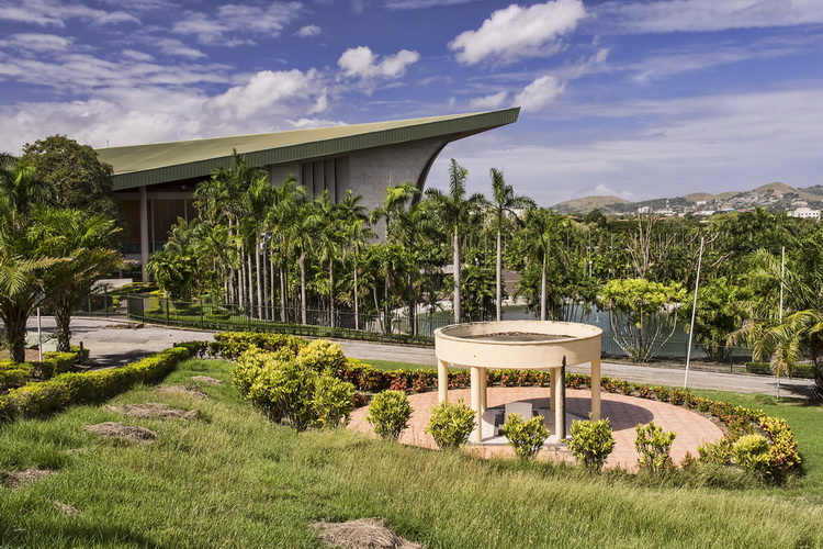 Things to do in Port Moresby - the National Parliament in Port Moresby