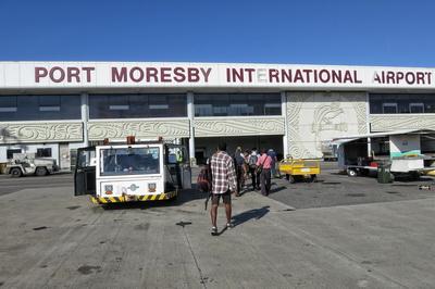 Papua New Guinea Logistics - Port Moresby Airport