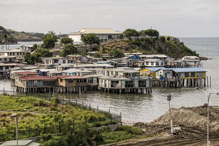 Koki Stilt Village in Port Moresby