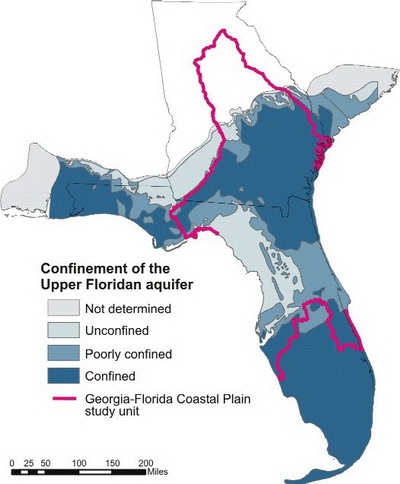 The Crystal River manatees and the Florida Acquifer - courtesy of fl.water.usgs.gov
