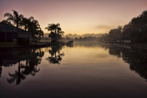 Dawn on the Crystal River