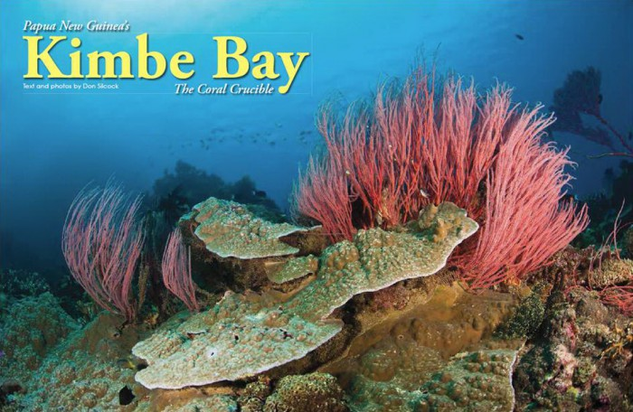 Kimbe Bay the Coral Crucible – X-Ray Article