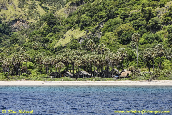 Places to stay on Atauro Island - Adara Eco-Camp on the west coast of Atauro Island