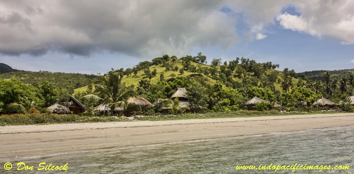 Places to stay on Atauro Island - Barry's Place at Beloi on Atauro Island