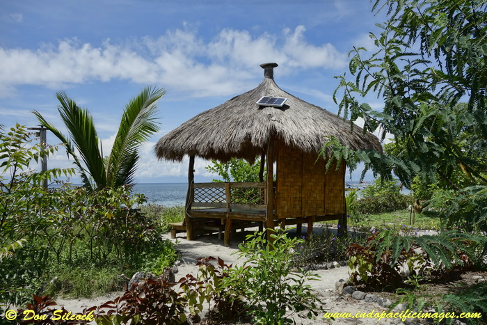 Places to stay on Atauro Island - Picturesque garden cabana at Barry's Place