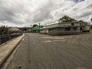 Tonga's Polynesian culture - Downtown Neiafu on a Sunday....