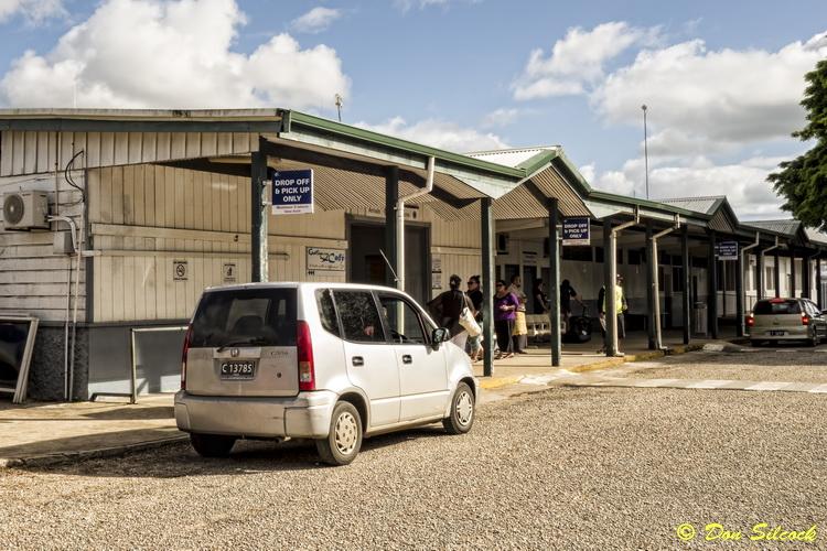 Tongan logistics - Nukuʻalofa's domestic terminal