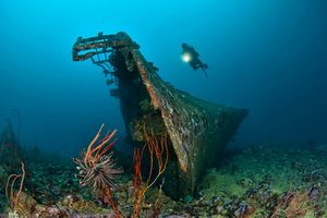 Guide to Diving Papua New Guinea - The Der Yang Wreck