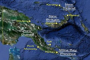 Guide to Diving Papua New Guinea - Main Diving Locations in PNG