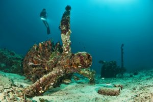 Guide to Diving New Ireland - Catalina Aircraft Wreck