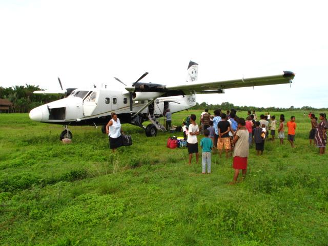 Papua New Guinea Logistics - Internal flights