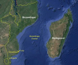 Mozambique Map - What You Need to Know About Tofo