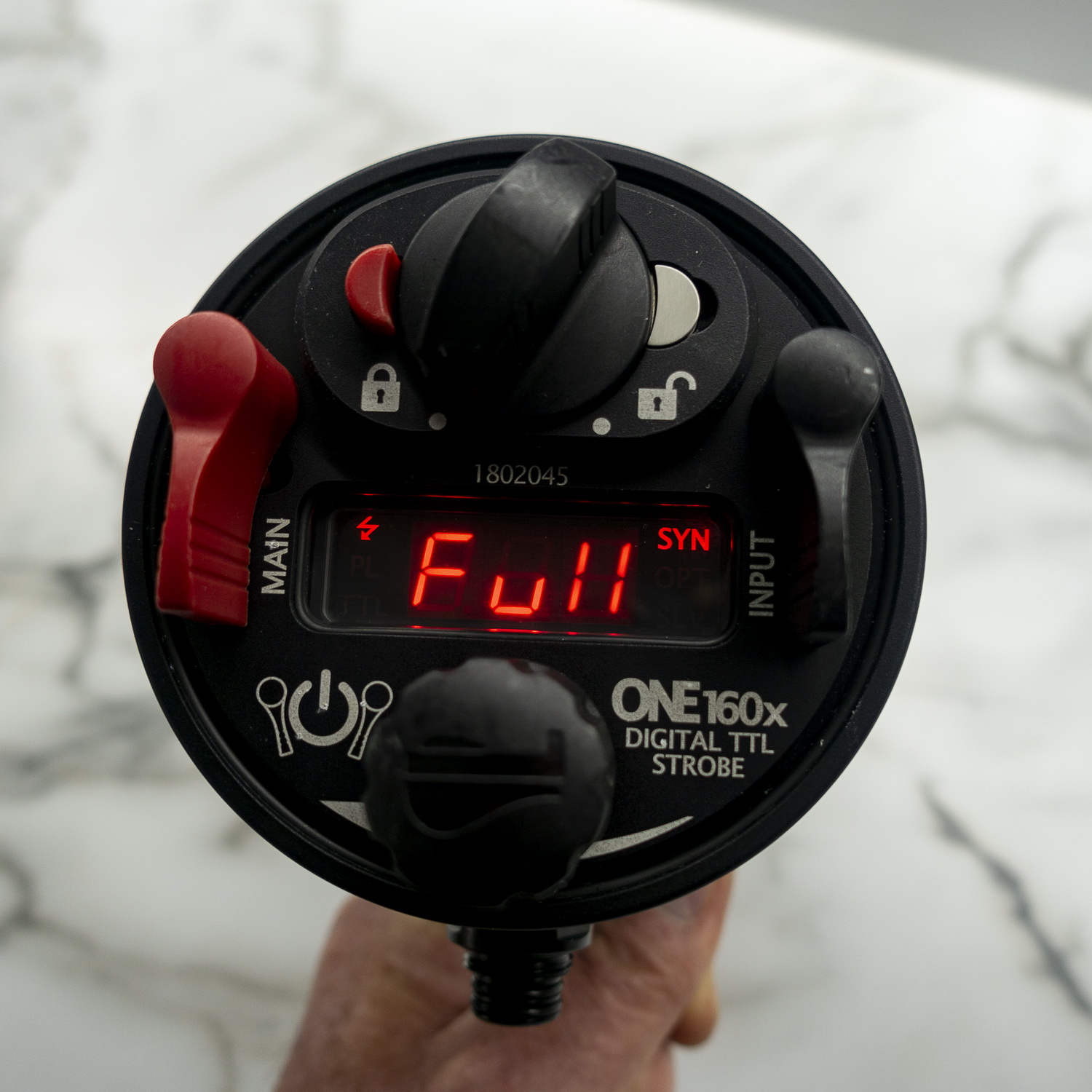 ONEUW One160X Strobe Review Rear