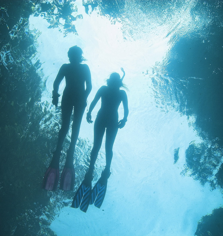 Diving the Blue Hole