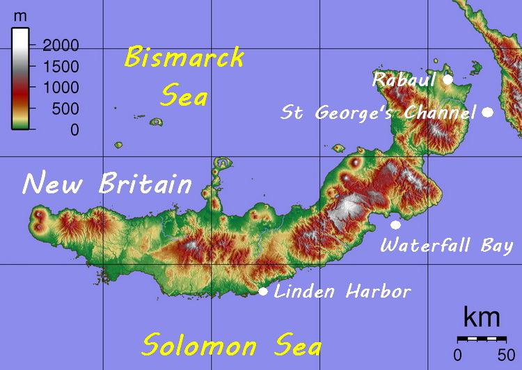 New Britain South Coast